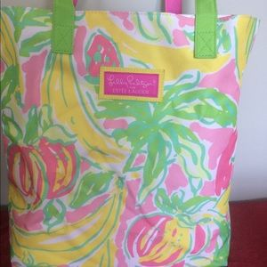 Lilly Pulitzer tote for Estee Lauder